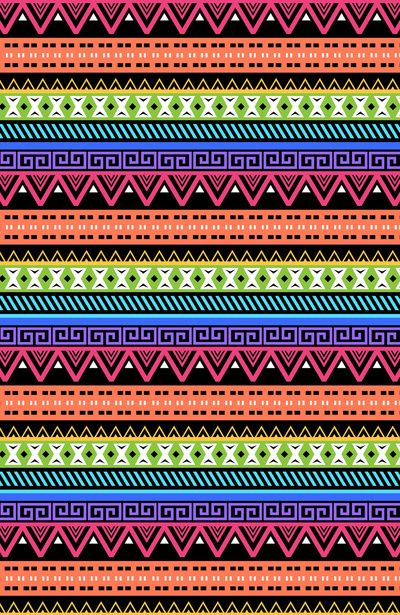 Fell In Love TotallyNeon Abstract Aztec Design By The Pixel Projekt