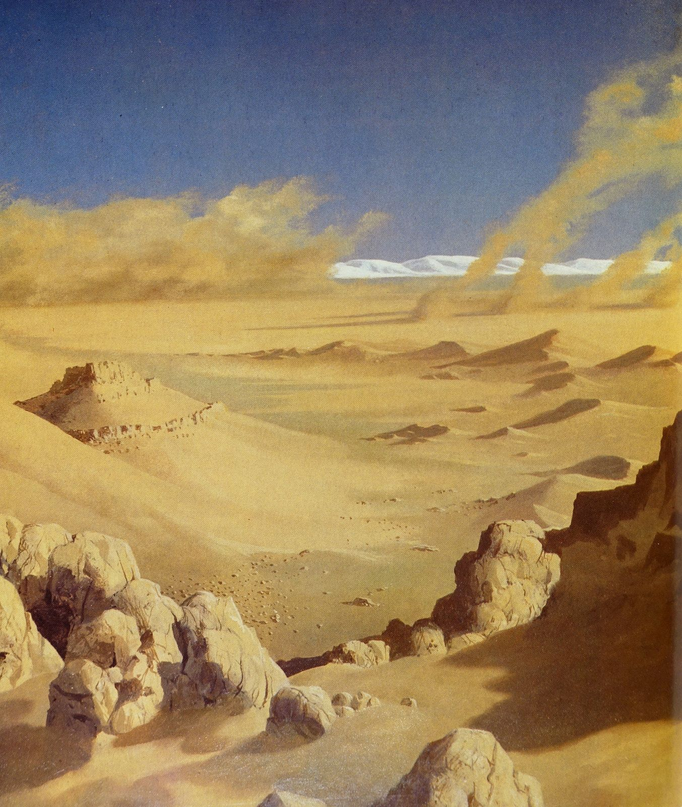 chesley bonestell mars - Google Search
