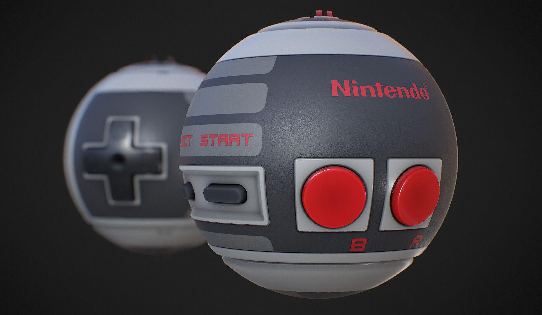 Nes Controller Substancedesigner Andy Nelson Productdesign Nintendo Madewithsubstance Nes Controller Design Substances