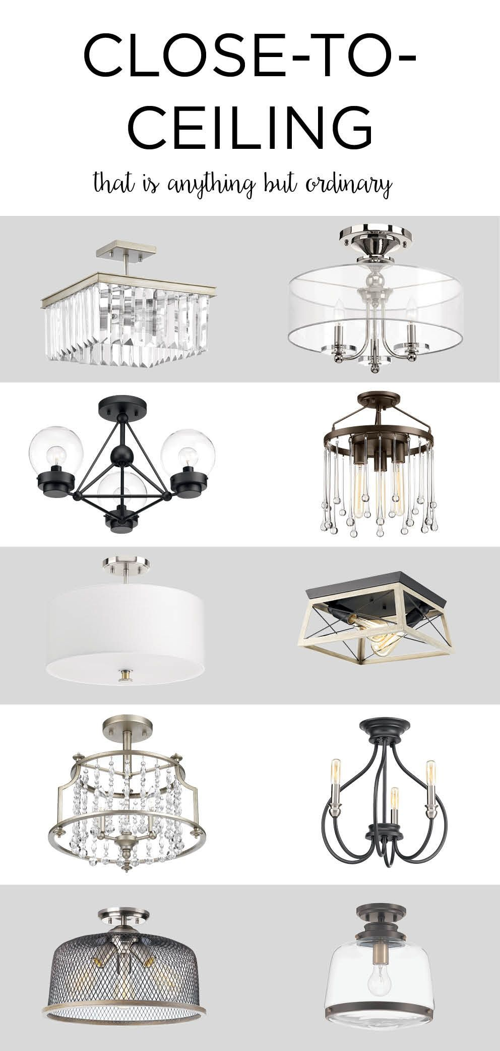 Set Your Décor Mood With The Right Light! Lighting has the