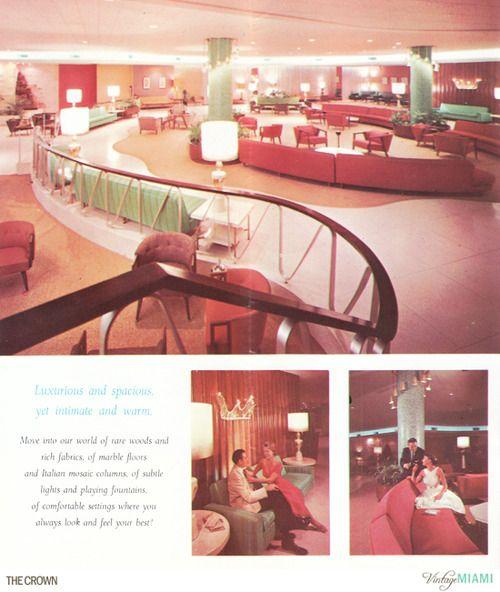 The Crown Hotel Miami Beach Circa 1960s