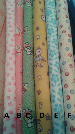 1930s Reproduction Fat Quarters by SimplySewing on Etsy