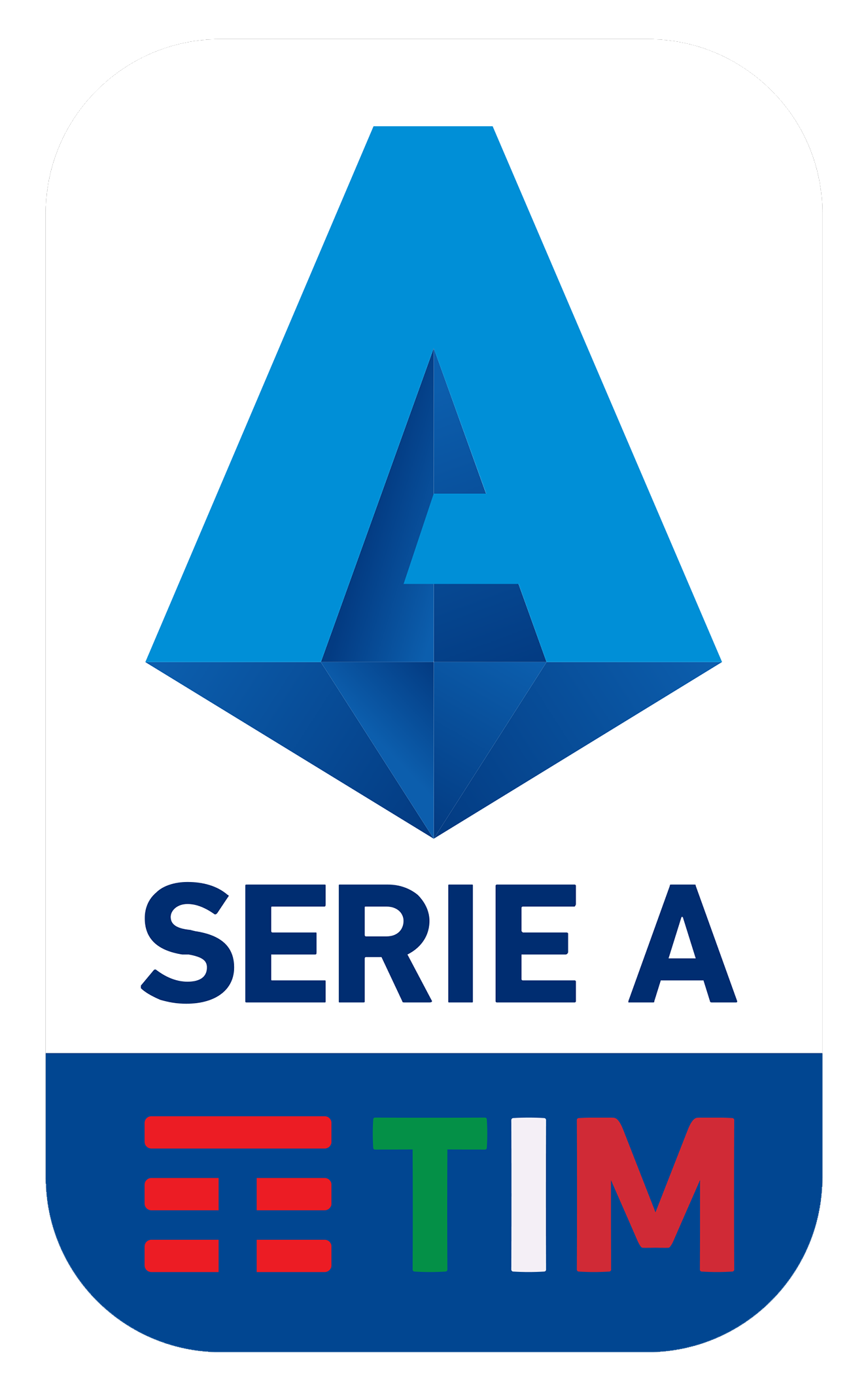Serie A 2019/20 Logo with TIM Sponsorship Escudo
