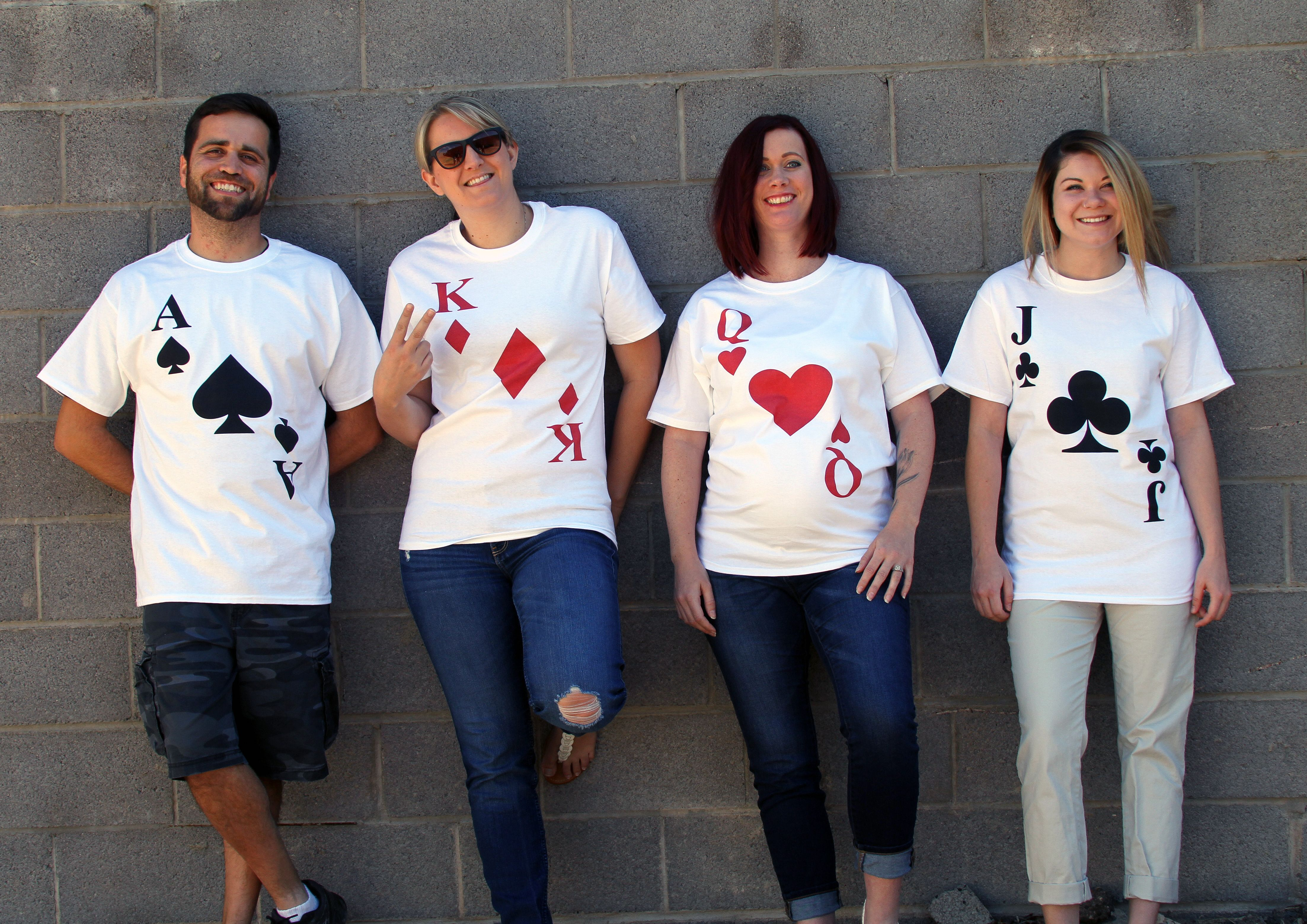 Playing Cards Halloween Costumes