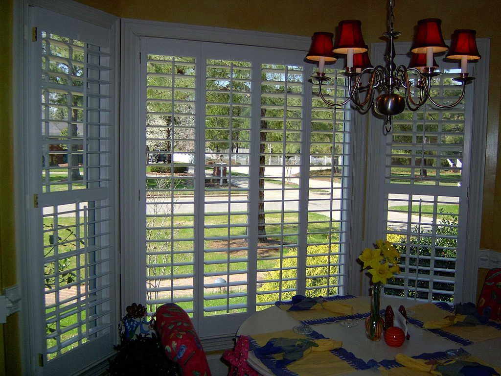 Window Treatments Photo Galleries From The Louver Shop