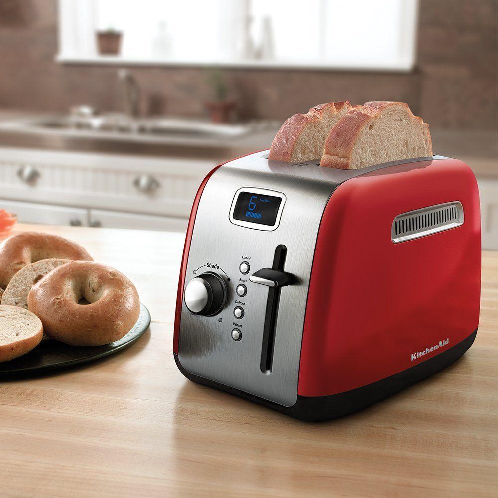Amazonsmile kitchenaid kmt222er 2slice toaster with