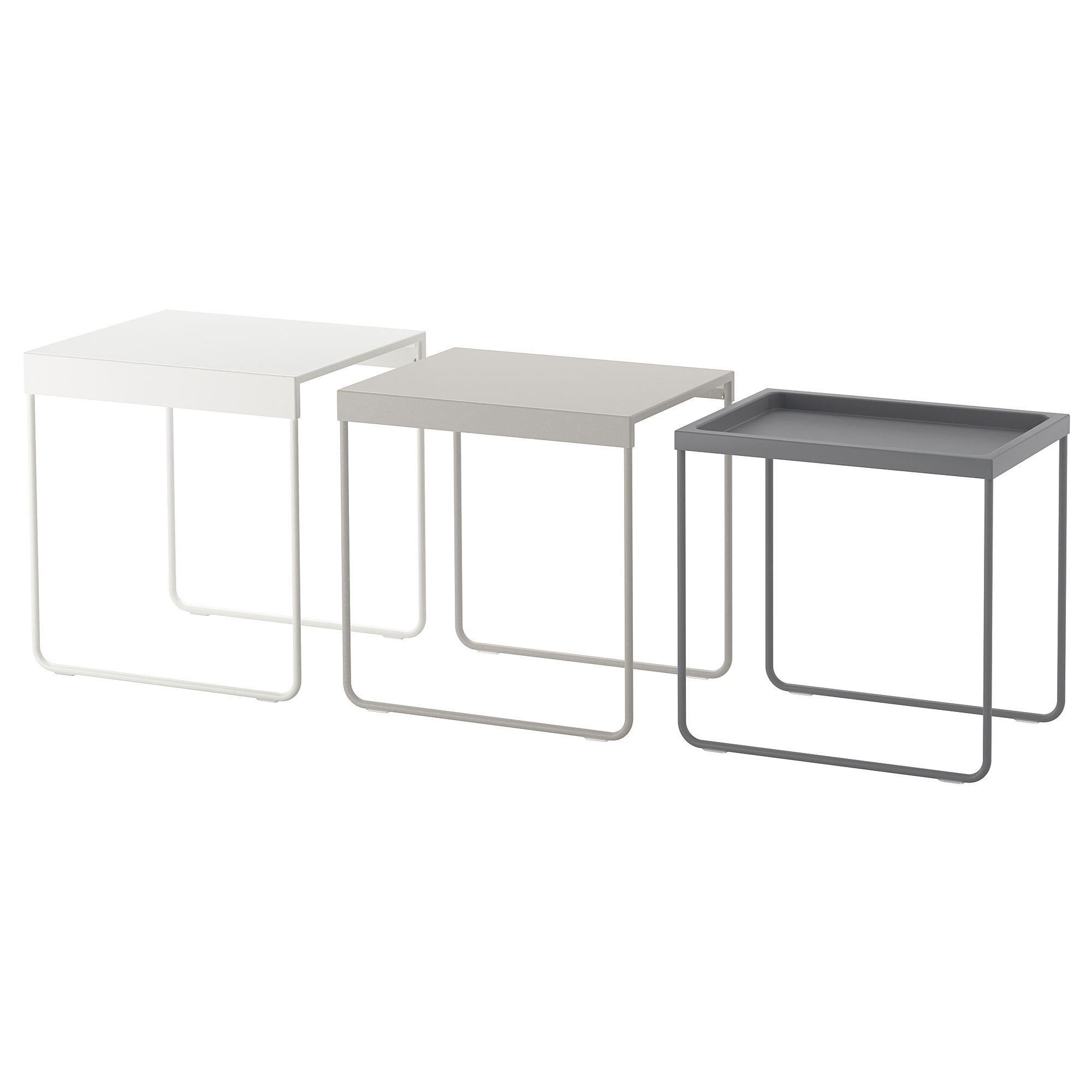 GRANBODA nest of tables | IKEA Living Room | want! | Pinterest ...
