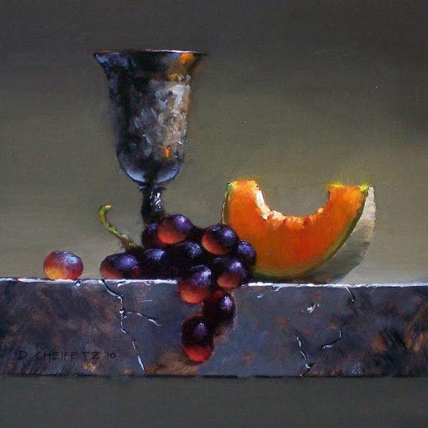 Retrato belas pinturas de David Cheifetz