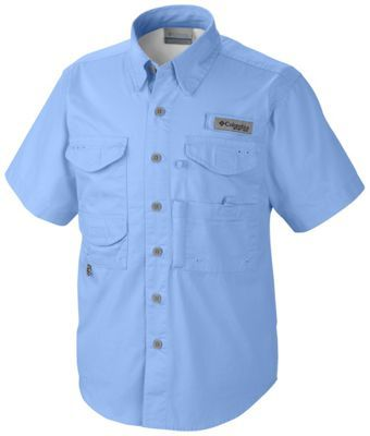 Relaxed Fit Columbia Youth Boys PFG Bonehead Short Sleeve Shirt Cotton