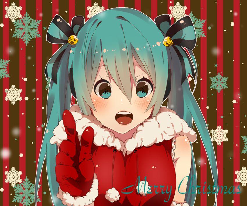 Merry Christmas <3 | Vocaloid | Pinterest | Vocaloid, Hatsune miku ...