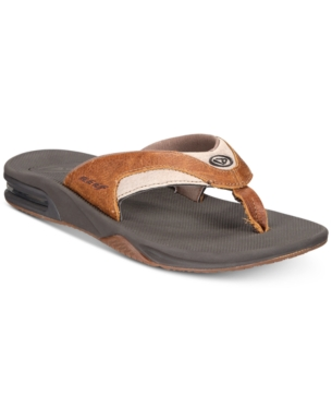 5eaf0c7f8aa Reef Men s Fanning Sandals - Brown 9 in 2019