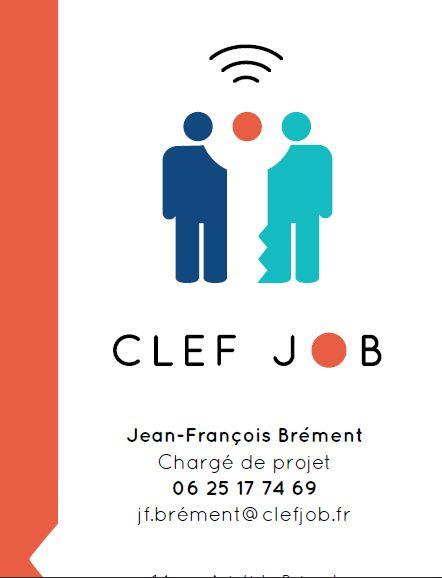 Cration De Carte Visite Verso Pour Clef Job En Stage L