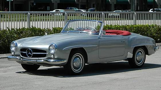 1955 Mercedes Benz 190sl Roadster At Auction 1881381 Hemmings