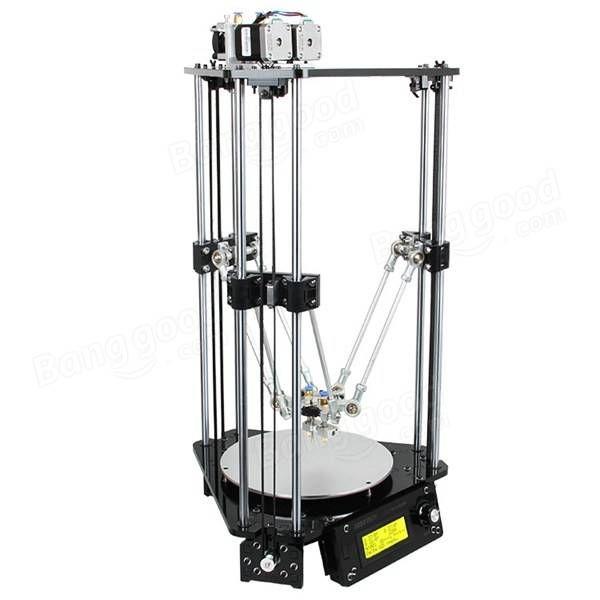 DIY Geeetech Delta Rostock Mini G2s Dual Extruder 3D Printer