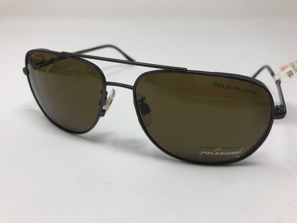 314cd48a621 Polo Ralph Lauren Sunglasses ITALY 3059 9012 83 Polarized Brown Lens 60mm  8755  fashion