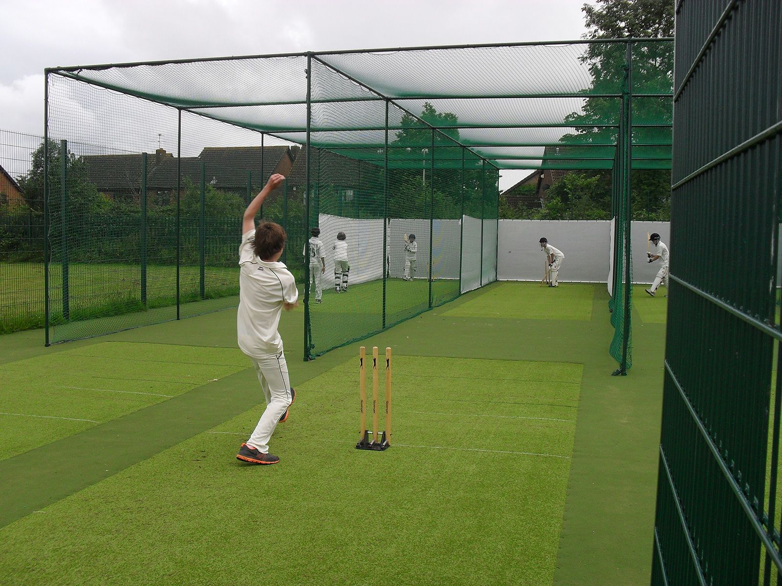 Kennet School Cricket Pitches With Practice Nets Cricket Nets Outdoor Gym History Of Cricket