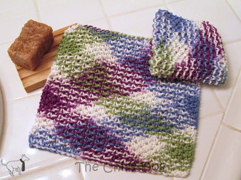 Knit Pattern: Moss Stitch Washcloths | Moss stitch, Free pattern and ...