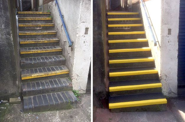 "Best ""Just Finished Installing New Safe Treads Steps And Very Pleased With The Result Photos Showing 400 x 300"