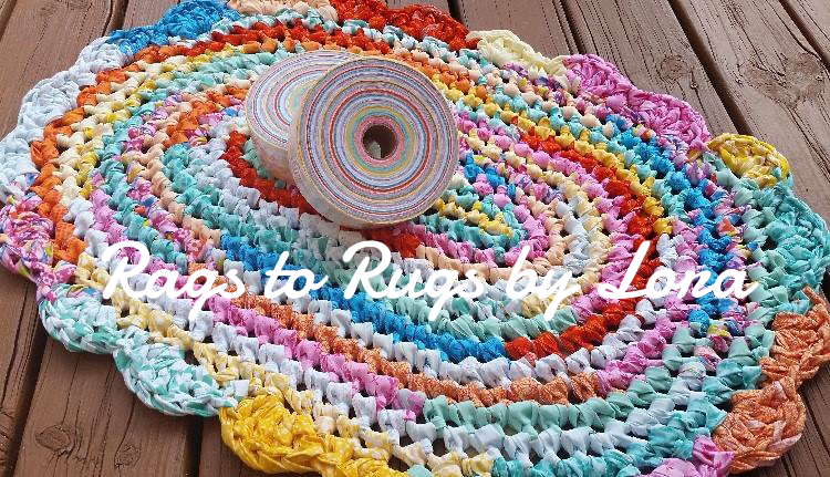 Rainbow Sherbet 100 Strip Yards 6 Yards Bolt Fabric Of Pre Connected Continuous Feed 2 Fabric Strips Perfect For C Rag Rug Fabric Rug Rag Rugs For Sale