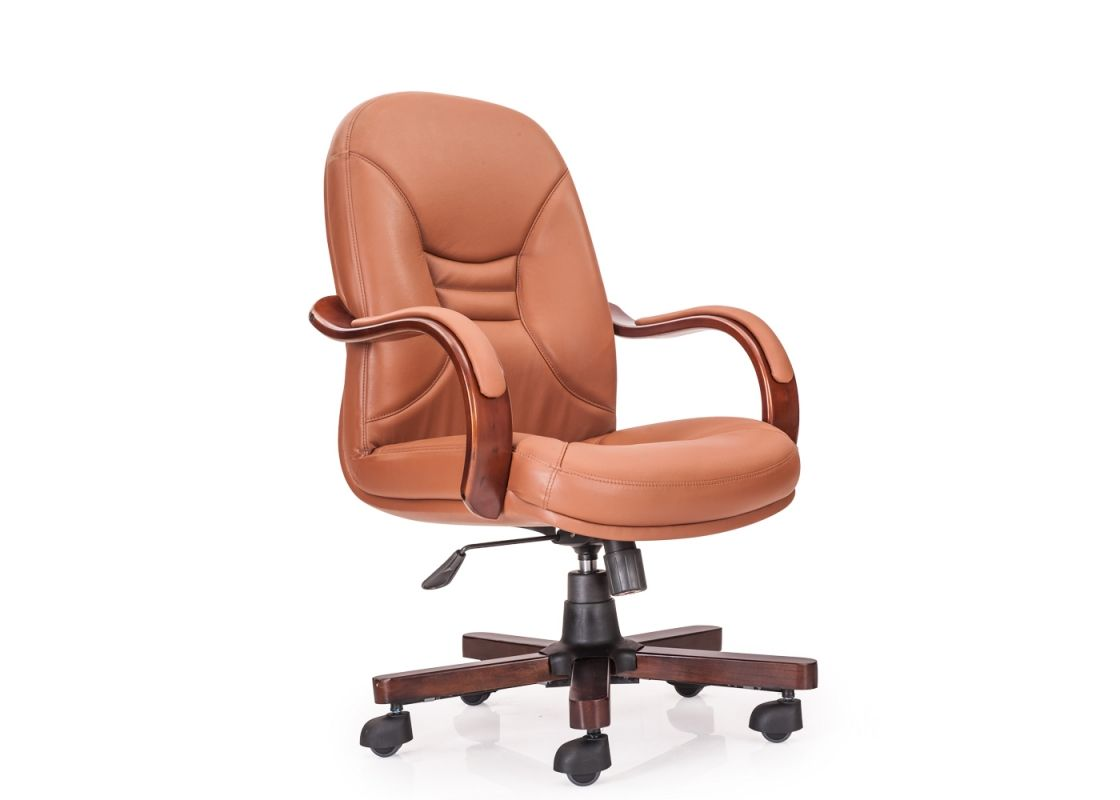Buy ultra midback office chair from durian brown