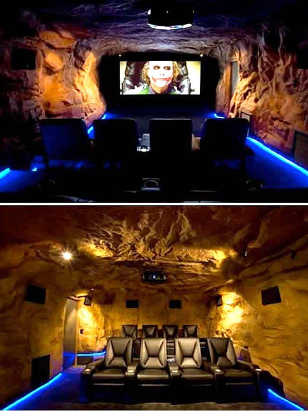 And Yet Another View Of The Bat Cave Great Room To Hunker Down In