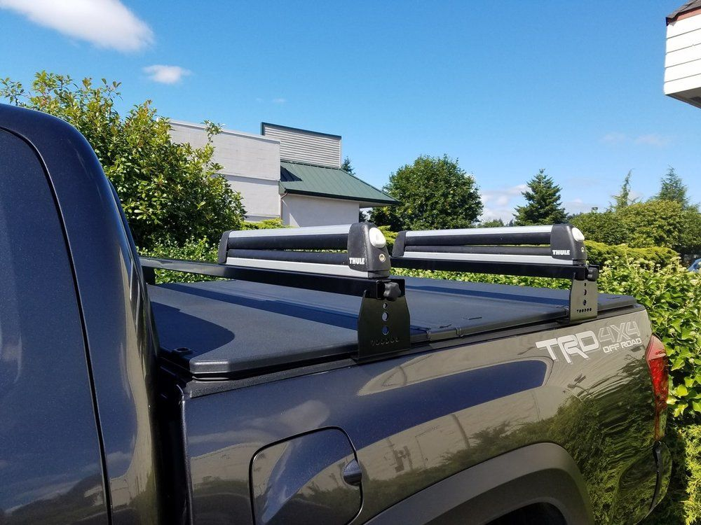 Toyota Hi Rise Crossbars, for use with tonneau