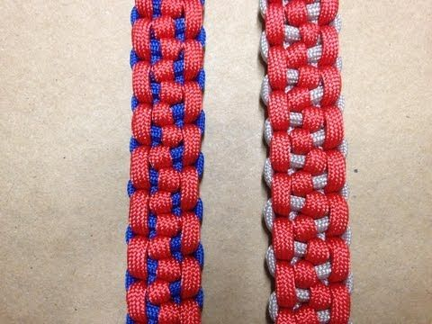 How to tie a Morse Code Bar Paracord Bracelet --by-- ChaoticThinking1