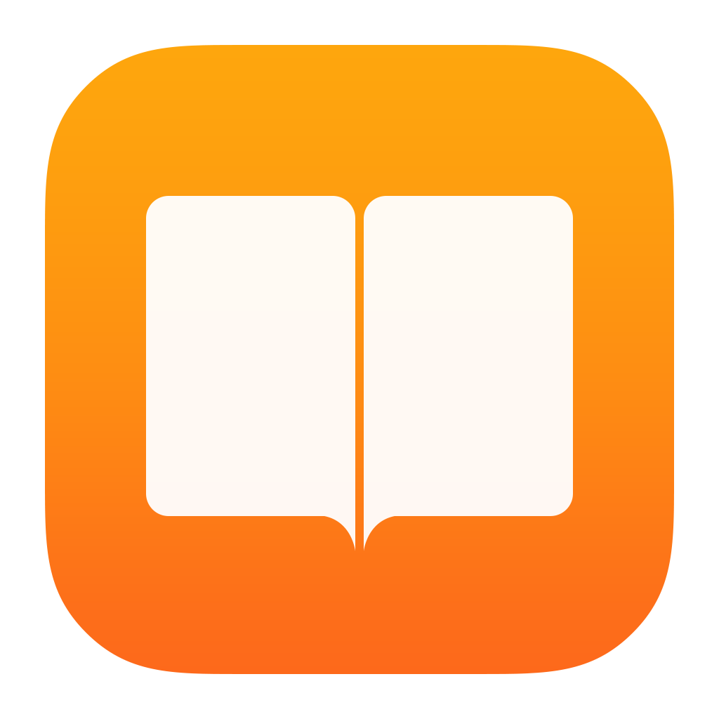 Ibooks Icon Png Image Icon Apple Ios My Books