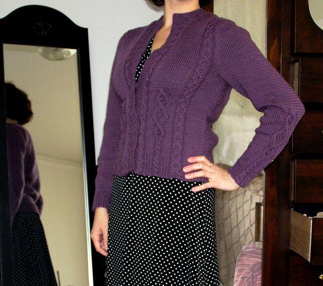 Paula's Vintage Cardigan by Jen L., via Flickr | Sweaters
