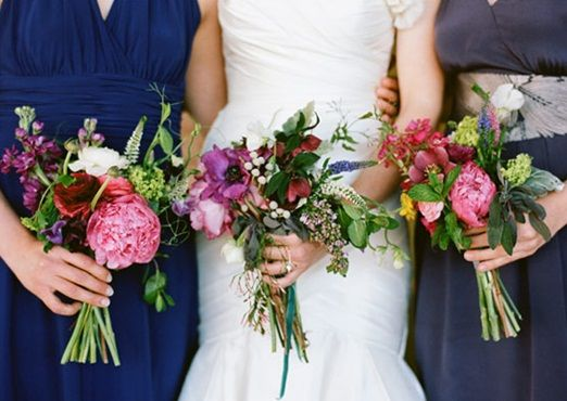 Untamed Garden Flower Wedding Bouquets As Pretty A Painting