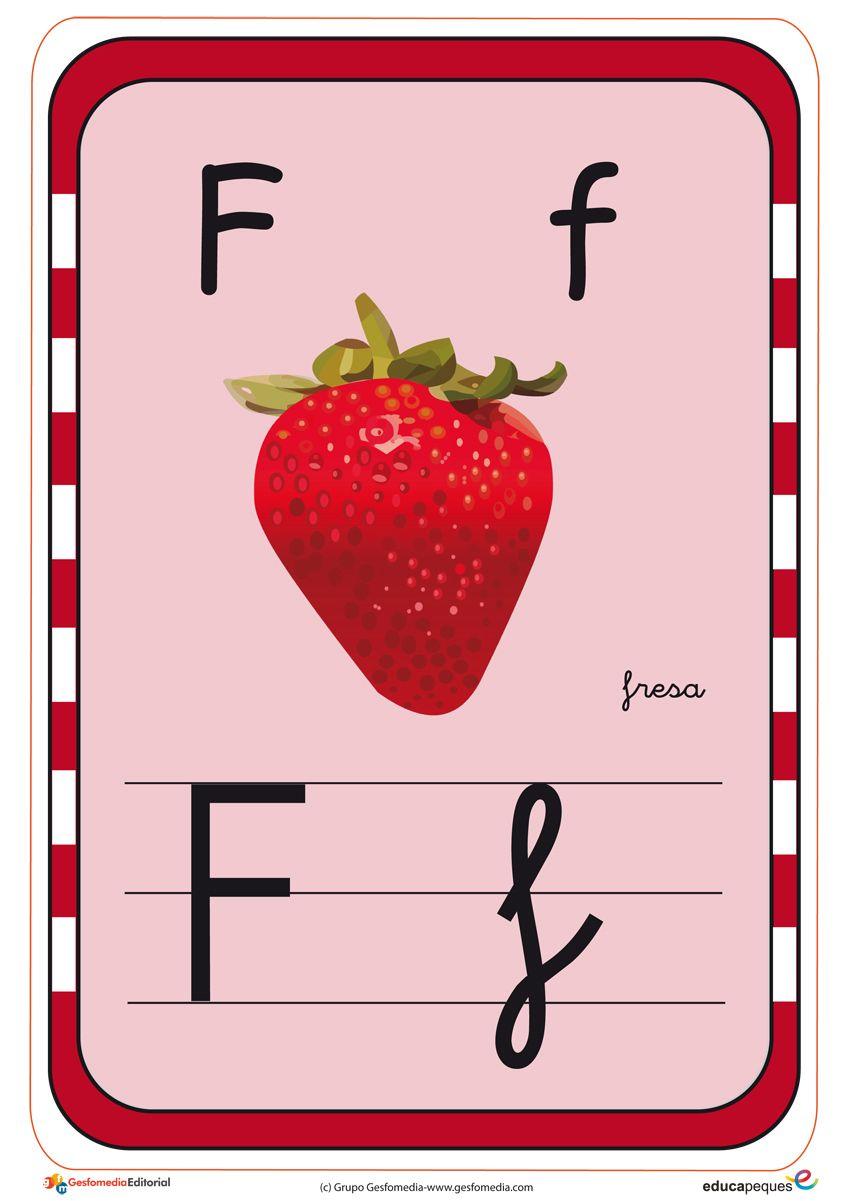 abecedario en color f | crear y divercion | Pinterest