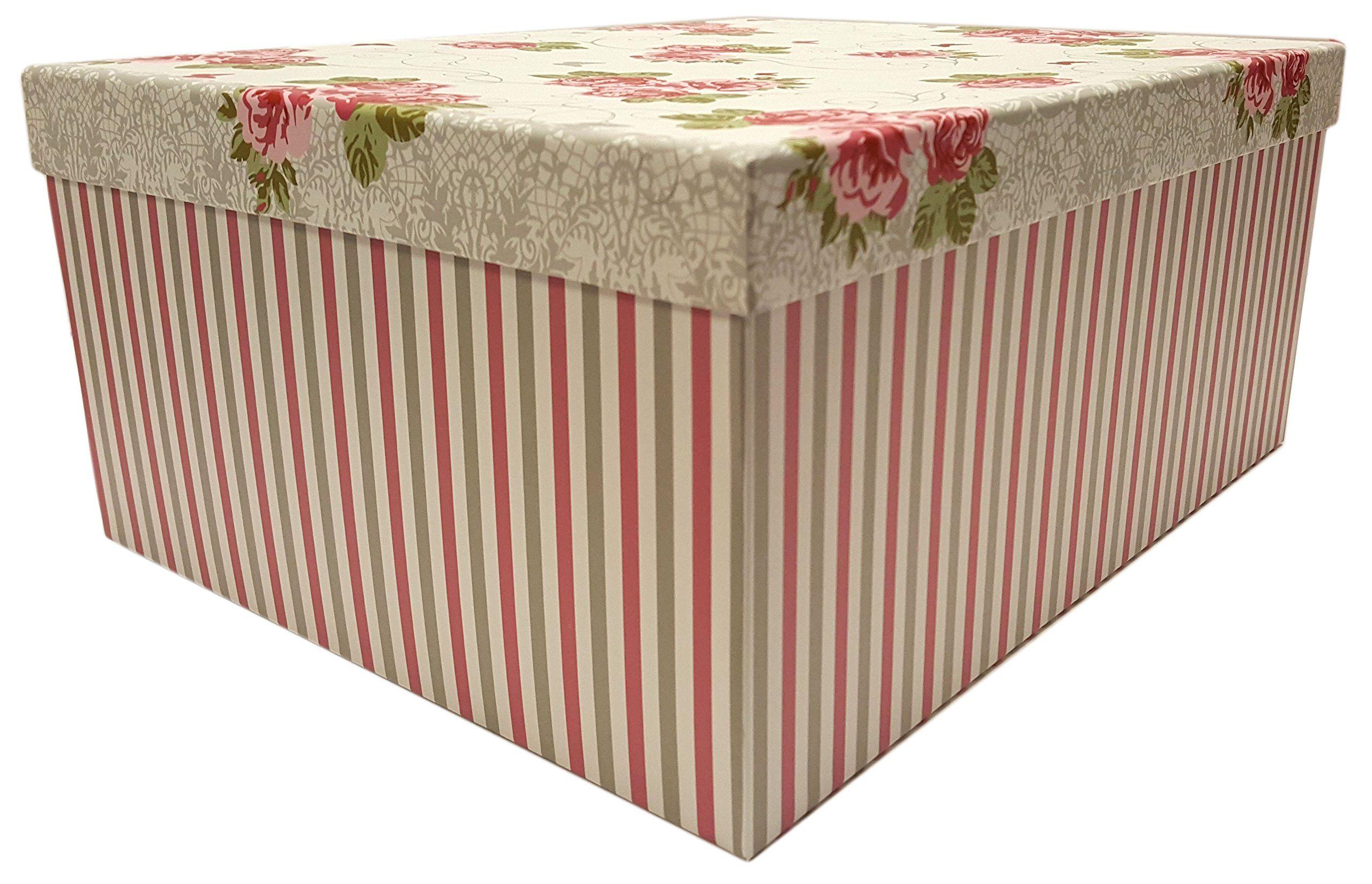 Alef Elegant Decorative Themed Extra Large Nesting Gift Boxes 6