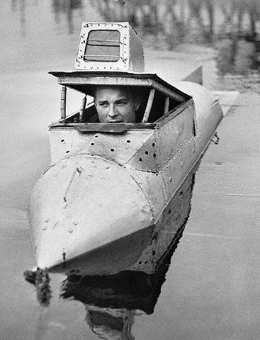 if your camp site has a lake... this personal submarine would be a real ice breaker