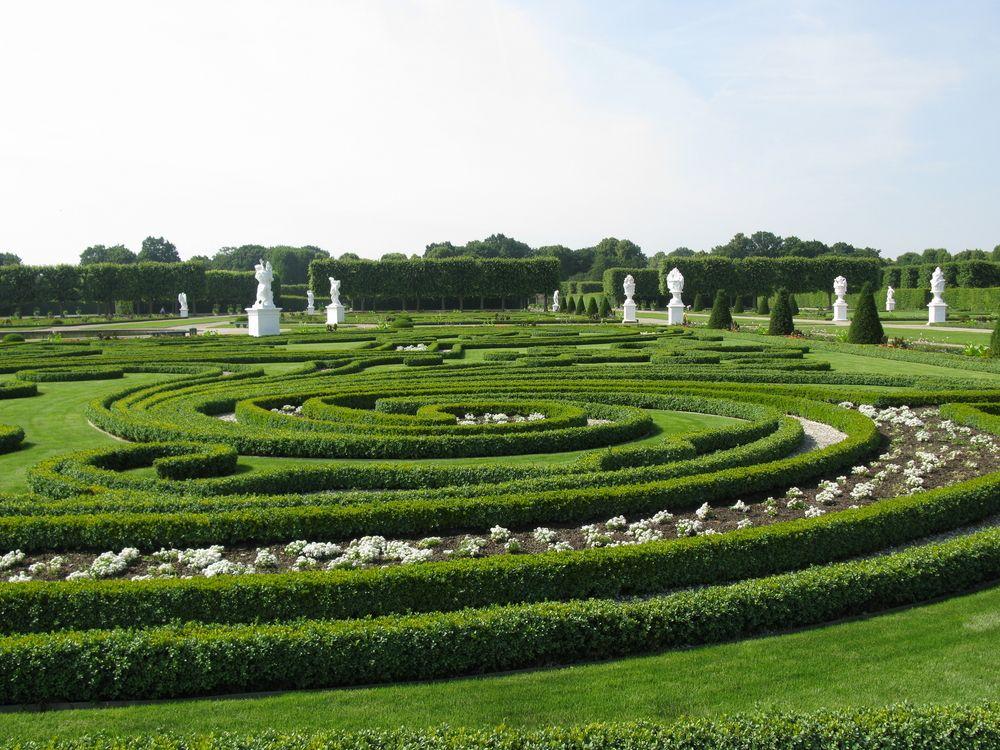 Germany Hannover Herrenhausen Gardens Hannover Bilder Grosser Garten