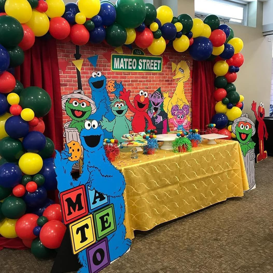 Sesame Street Sesame Street Birthday Elmo Birthday Invitations Sesame Street Birthday Party