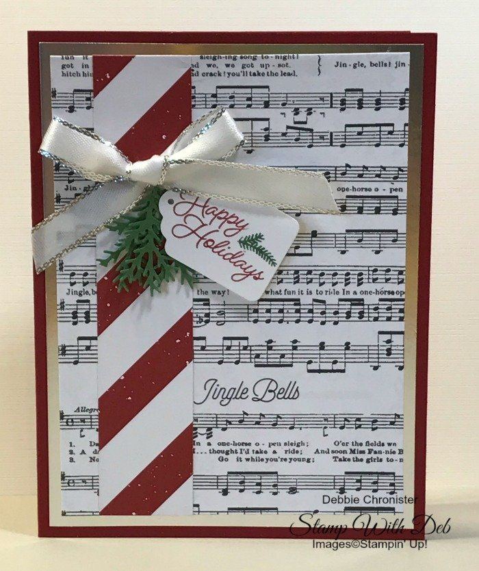Stampin' Up! Christmas Cards | Stamp With Deb | California 95610
