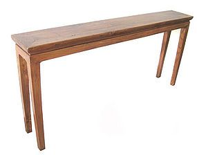 Elegant Chinese Antique Narrow Altar Table Made Of Elm Wood (item