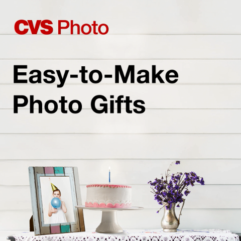 Create personalized gifts—books, calendars, magnets and more—using your favorite photos. Order yours online for free same-day pickup.