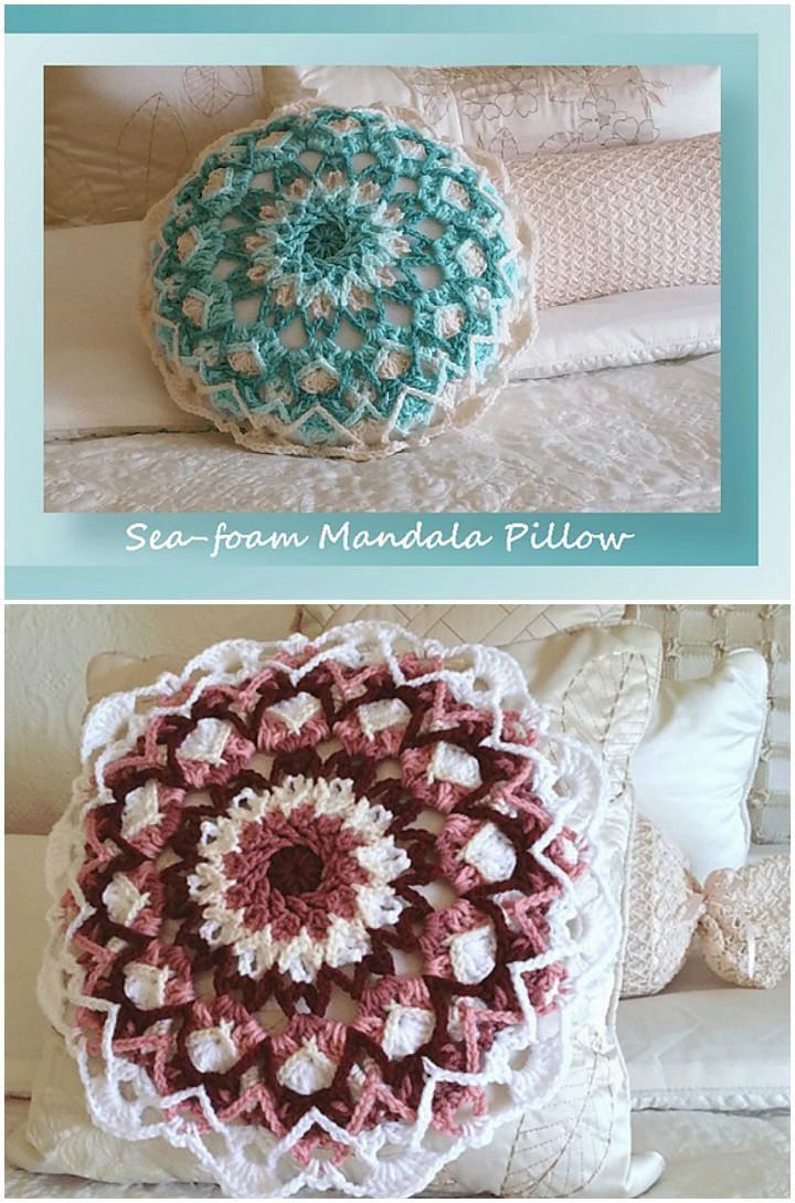 60+ Free Crochet Mandala Patterns | häkeldecke | Pinterest | Häkeln ...