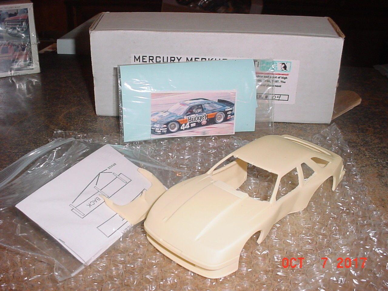 Mercury Merkur Xr4ti Imsa Racer Body 1 24th Penn Gwen 5005 44