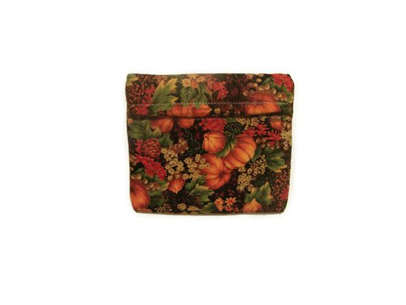 Autumn Microwave Potato Bag  Snack Bag  Small by bagsbyhags45, $5.00