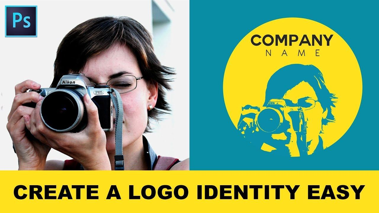 How To Convert Photos Into Logo Identity In Photoshop Creating Illustrative Logo From A Photograph Youtube Photoshop Logo Illustration Identity Logo