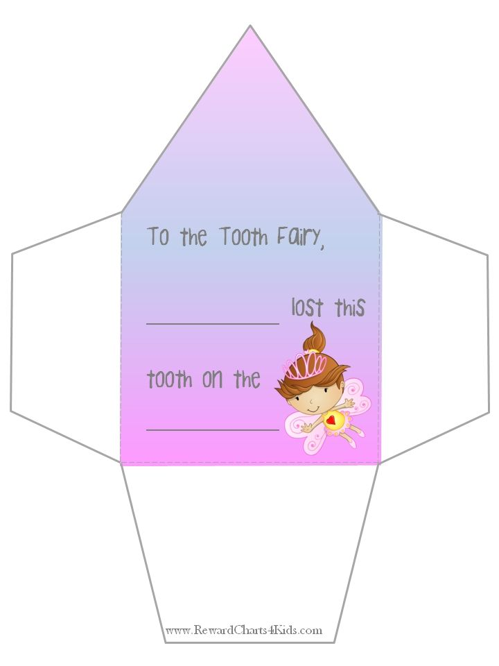 Tooth Fairy Envelope  Rules    Tooth Fairy Teeth And