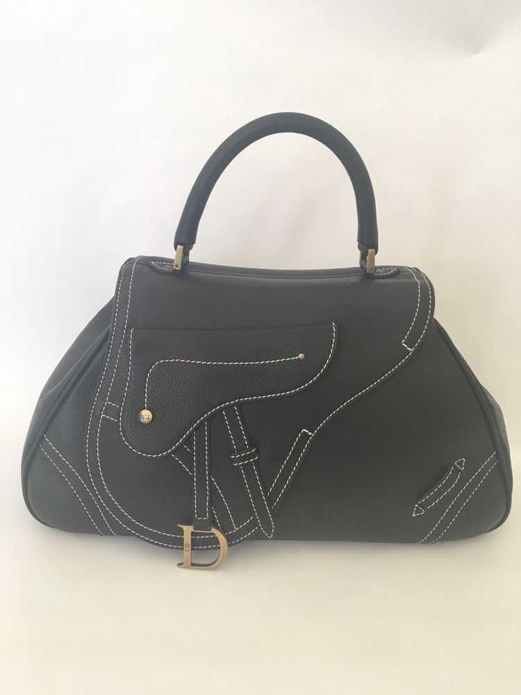This bag is the classic Dior with the saddle style an edgy modern look that  will acdfda3e668bc