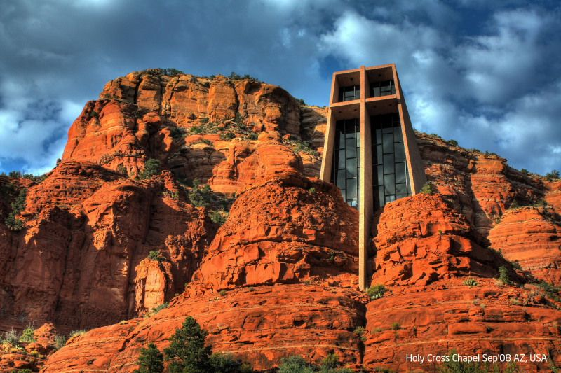 Perfect Chapel Of The Holy Cross, Sedona, AZ. This Place Made Me Want To Amazing Pictures