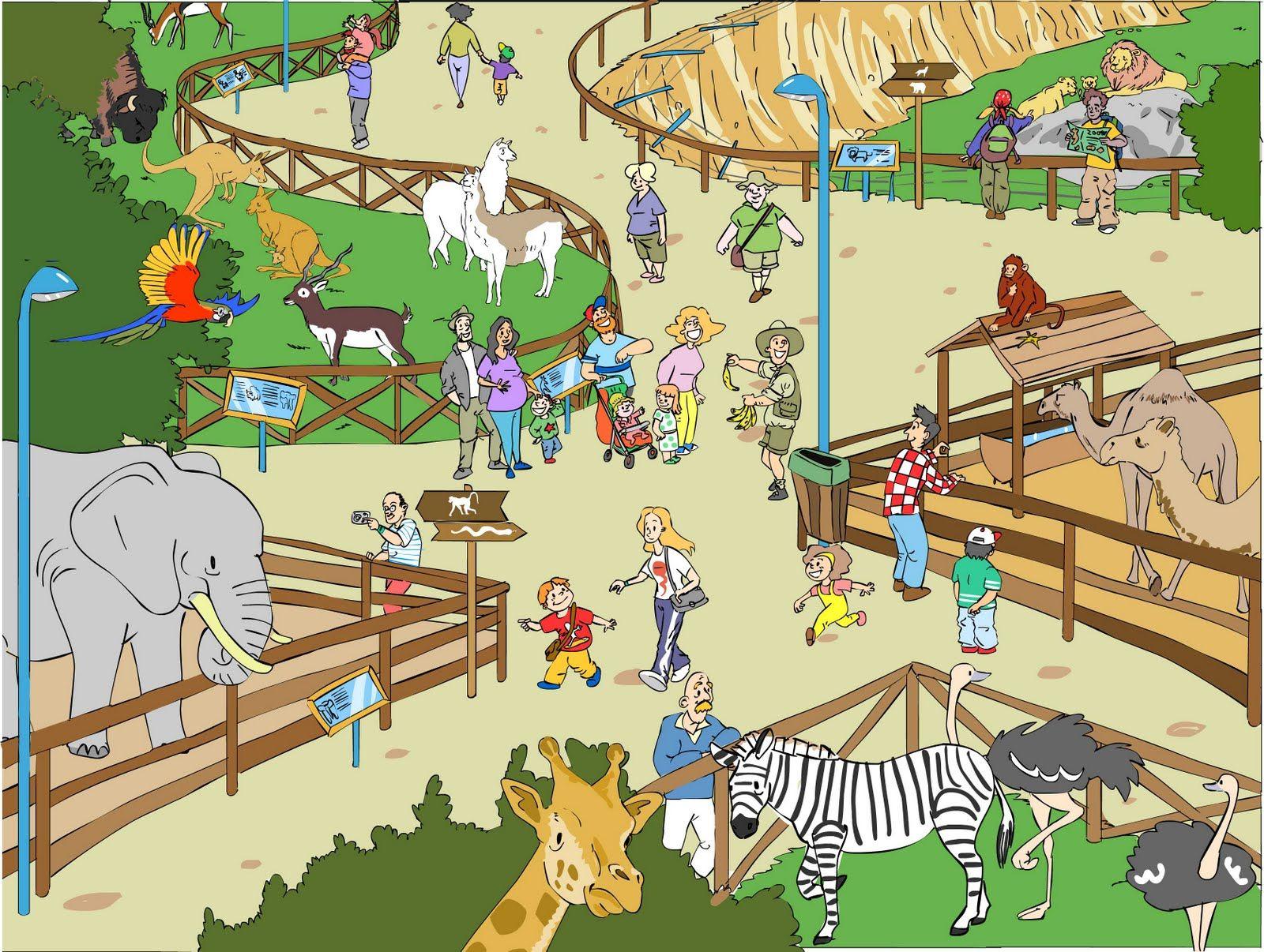 Зоопарк для малышей картинки