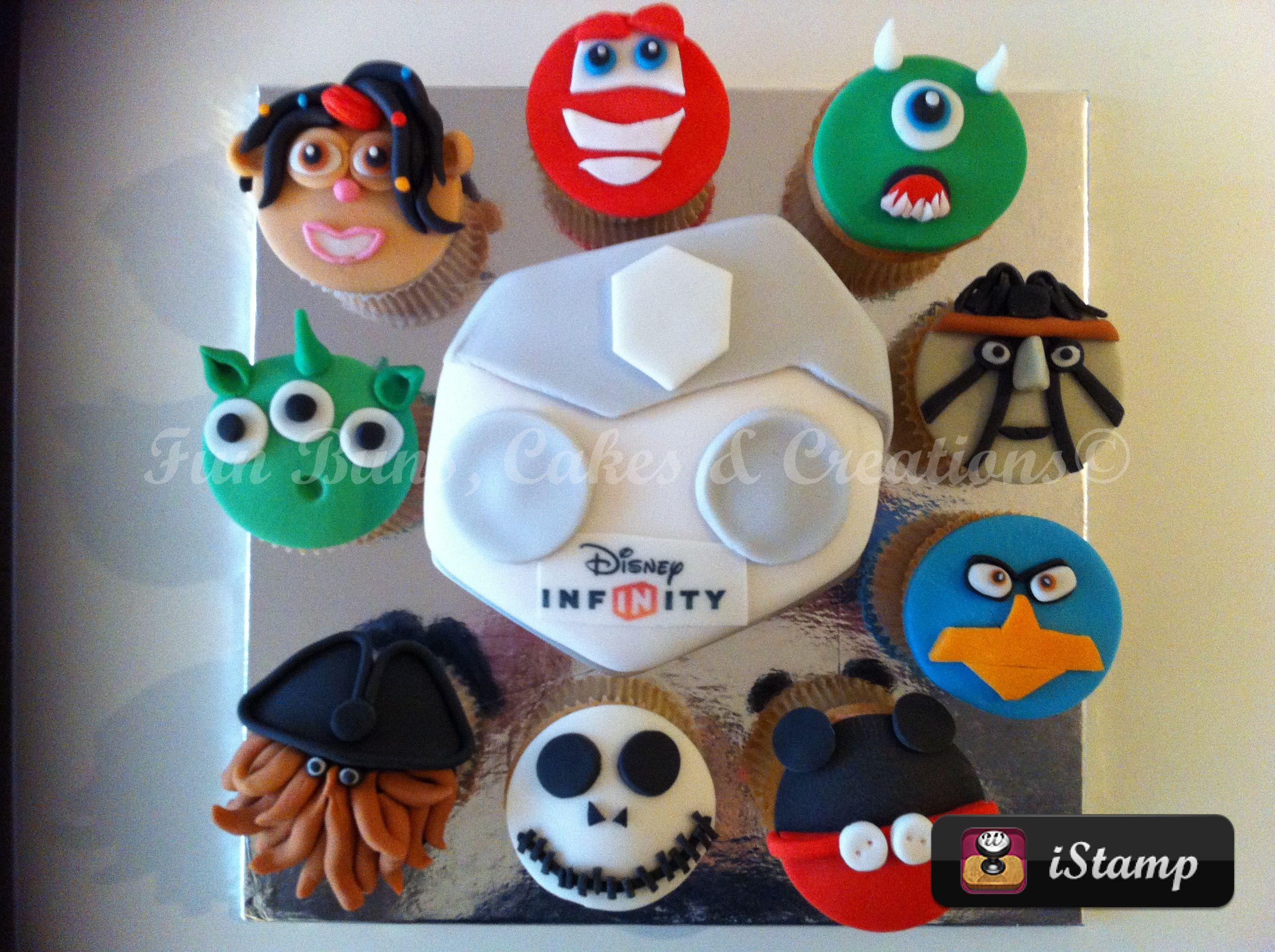 Disney infinity cake Abbies birthday ideas Pinterest ...