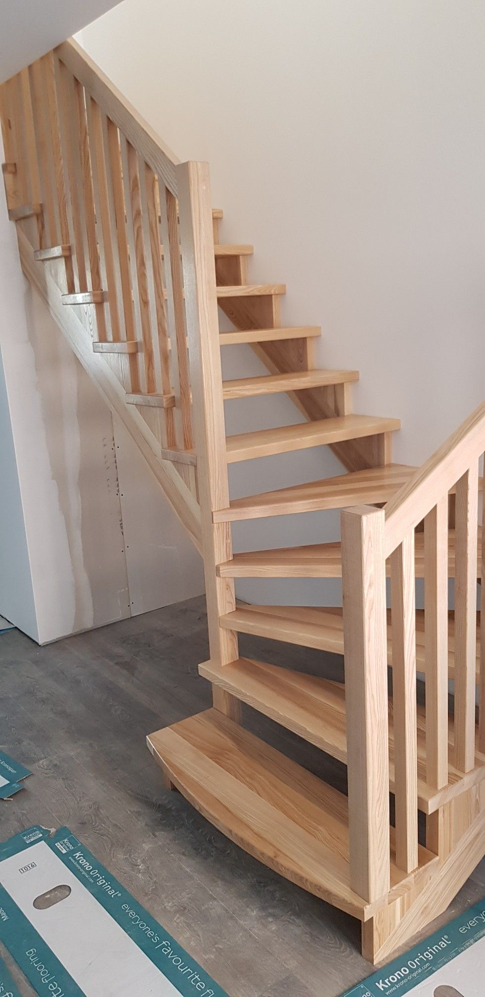 Compact Wooden Staircase For Small Spaces 30 Square Meters Staircase Smallspace Stairideas Wooden Staircases Small Space Staircase Staircase