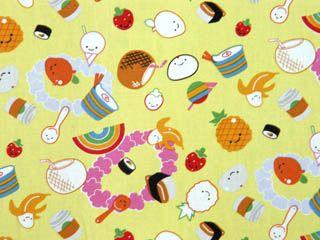 CA6013- 100% Cotton Fabric: All-Over Hawaiian Print Fabric