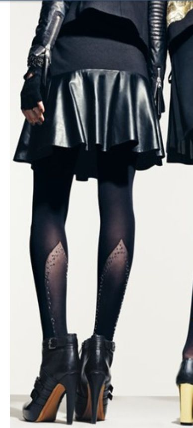 DKNY embellished tights available at Nordstrom